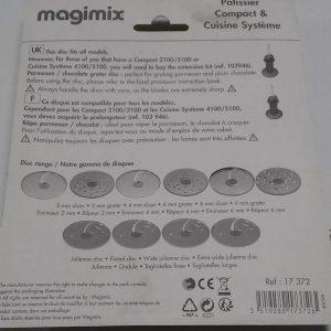 Magimix-Disk Za Parmezan i Čokoladu