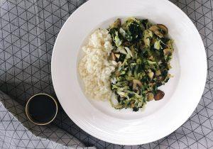 Pročitajte više o članku U potrazi za dobrim špinatom ili wok s gljivama, kupusom i špinatom